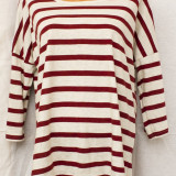 Bluza /Tricou in dungi de la ESMARA, produs nou