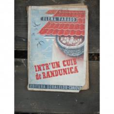 INTR-UN CUIB DE RANDUNICA - ELENA FARAGO - Carte veche