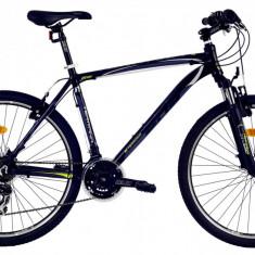 Bicicleta DHS Terrana 2623 (2016) Culoare Negru/Alb/Albastru 495mmPB Cod:21626234969 - Mountain Bike