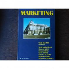 MARKETING - VIRGIL BALAURE - Carte Marketing