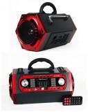 BOXA ACTIVA KARAOKE,ACUMULATOR,MP3 USB,AFISAJ,TELECOMANDA,MICROFON.NOU