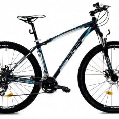 Bicicleta DHS Terrana 2925 (2016) Culoare Negru/Gri/Argintiu 495mmPB Cod:21629254969 - Mountain Bike DHS, 19.5 inch