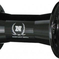 Butuc fata Novatec 751 SB 36H Alu Negru MatPB Cod:JOY-18565 - Piesa bicicleta