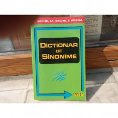 Dictionar de sinonime, Luiza Seche, Mircea Seche, 2000 - Dictionar sinonime