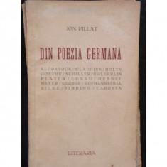 DIN POEZIA GERMANA - ION PILLAT