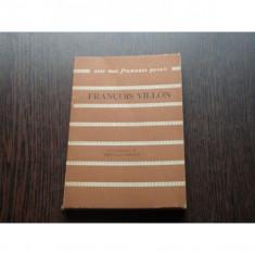 CELE MAI FRUMOASE POEZII - FRANCOIS VILLON - Carte poezie