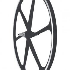 Roata Fata Fixa AeroWheels 700 NegruPB Cod:40704NARM - Piesa bicicleta