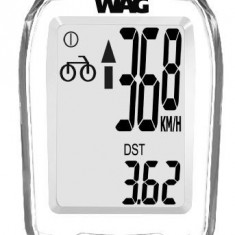 Kilometraj WAG 9 Functii Wireless AlbPB Cod:588040315RM, Ciclocomputer bicicleta