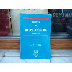 REVISTA DE DREPT COMERCIAL SERIE NOUA ANUL V NR.2 1995 , Cursuri