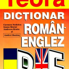Dictionar roman-englez, Editura Teora