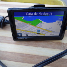 Gps garmin nuvi 1490, display mare 5inc, voce text in romana full toata europa - Suport auto GPS