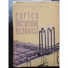 CARTEA FIERARULUI BETONIST - C. SILISTRALIANUL - Carte veche