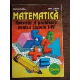 MATEMATICA PROBLEME CLS. I-IV - ION PETRICA - Carte Matematica