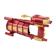 Jucarie Avengers Iron Man Slide Blast Armour - Pistol de jucarie nerf