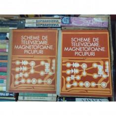 SCHEME DE TELEVIZOARE MAGNETOFOANE , PICUPURI , VOLUMUL 1 SI 2 , M. SILISTEANU, 2004