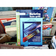 MARKETING TESTE-GRILA, Virgil Balaure, 2003 - Carte Marketing