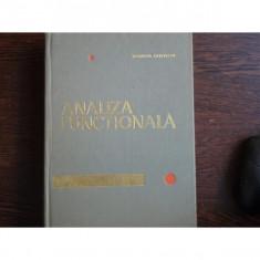 ANALIZA FUNCTIONALA - ROMULUS CRISTESCU