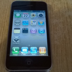 iPhone 3G Apple 8 GB FUNCTIONAL SE VINDE CA IPOD, Alb