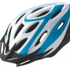 Casca Rider Alb/Albastru Marime L (58-61cm)PB Cod:588400284RM - Echipament Ciclism