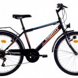 Bicicleta Kreativ 2413 (2016) culoare Negru-PortocaliuPB Cod:216241364 - Bicicleta copii