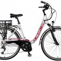 Bicicleta Electrica Devron 28006 Eco I-Vega culoare argintiuPB Cod:2142800670
