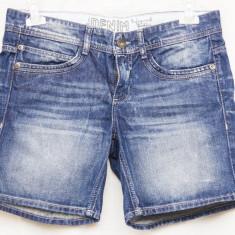 Pantaloni scurti denim - Blugi dama, Marime: M, Culoare: Albastru