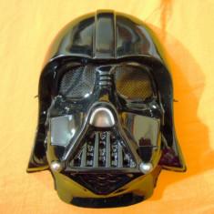 Masca Star Wars Darth Vader, pentru amuzament, petreceri - Masca carnaval, Marime: Marime universala, Culoare: Negru