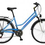 Bicicleta DHS Travel 2654 Culoare Albastru – 430mmPB Cod:21526544330 - Bicicleta de oras DHS, 11 inch, Otel