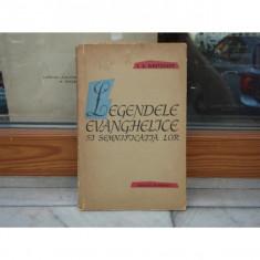 LEGENDELE EVANGHELICE SI SEMNIFICATIA LOR, I. A. KRIVELIOV, 1959 - Carte mitologie