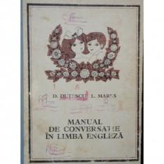 MANUAL DE CONVER5SATIEIN LIMBA ENGLEZA