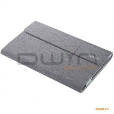ASUS Husa Transcover 7', pentru MemoPad, interior microfobra, exterior poliuretan, culoare gri - Husa Tableta