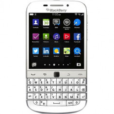 Smartphone Blackberry Classic 16gb lte 4g alb Q20 - Telefon BlackBerry