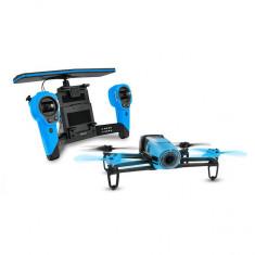 Drona Parrot Bebop & Skycontroller, Filmare Full HD, 14 MP, Wi-Fi (Albastru)