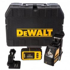 Nivela laser cu detector de exterior DeWalt DW088KD - Nivela laser cu linii