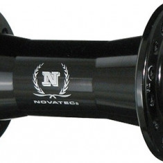 Butuc fata Novatec 751 SB 32H Alu Negru MatPB Cod:JOY-18558 - Piesa bicicleta