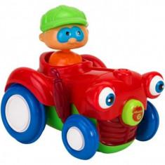 Jucarie Bebelusi Vitamina G Tractor Cu Figurina Lumini Si Sunete - Jucarie zornaitoare
