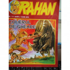 RAHAN NR. 1/2010 - COLIERUL DE GHEARE - Carte personalizata