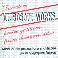 Gabriela Stroe - Lucrati cu Microsoft Works pentru gestiunea firmei dumneavoastra. Manual de prezentare si utilizare. Pachet de 4 pro... - 15335 - Carte despre internet