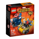 LEGO® Super Heroes Mighty Micros Captain America contra Red Skull (76065)