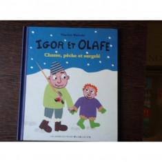 IGOR ET OLAFE - PIERRICK BISINSKI - Carte personalizata