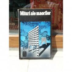 MITURI ALE MAORILOR, ANTONY ALPERS - Carte mitologie