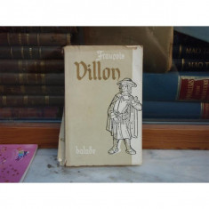 Balade, Francois Villon - Carte poezie