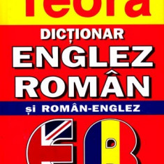 Dictionar englez-roman, roman-englez de buzunar, Editura Teora