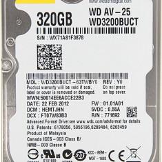 Hard Disk Laptop Western Digital 320 GB SATA 3 16 MB - HDD laptop