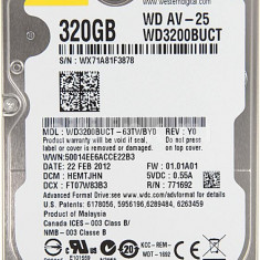 Hard Disk Laptop Western Digital 320 GB SATA 3 16 MB - HDD laptop