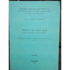 MANUAL DE LIMBA RUSA - VALEANU VALENTINA
