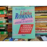 Limba romana pentru admiterea la facultati, Mircea Goga
