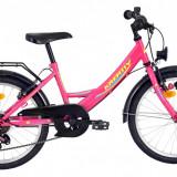 Bicicleta Kreativ 2014 (2016) culoare RozPB Cod:216201411 - Bicicleta copii