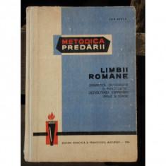 METODICA PREDARII LIMBII ROMANE - ION BERCA