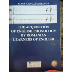 THE ACQUISITION OF ENGLISH PHONOLOGY - Teste admitere facultate